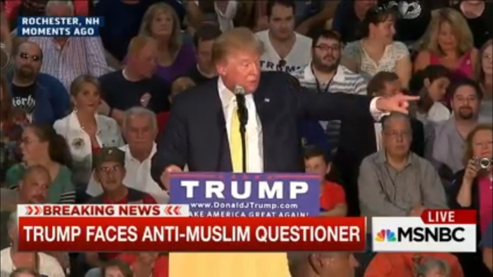 donald trump anti-muslim