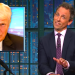 Seth Meyers: Donald Trump's Foundation Is 'Down To F You…