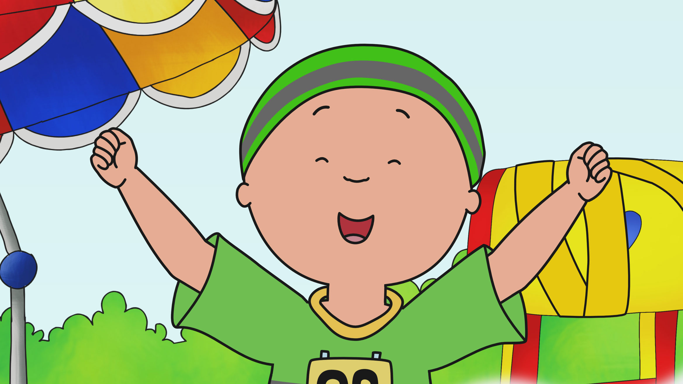 Happy Anime Wallpaper Accueil Caillou