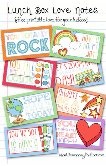 10 Lunch Box Notes Your Kids Will Love ACTIVEkids