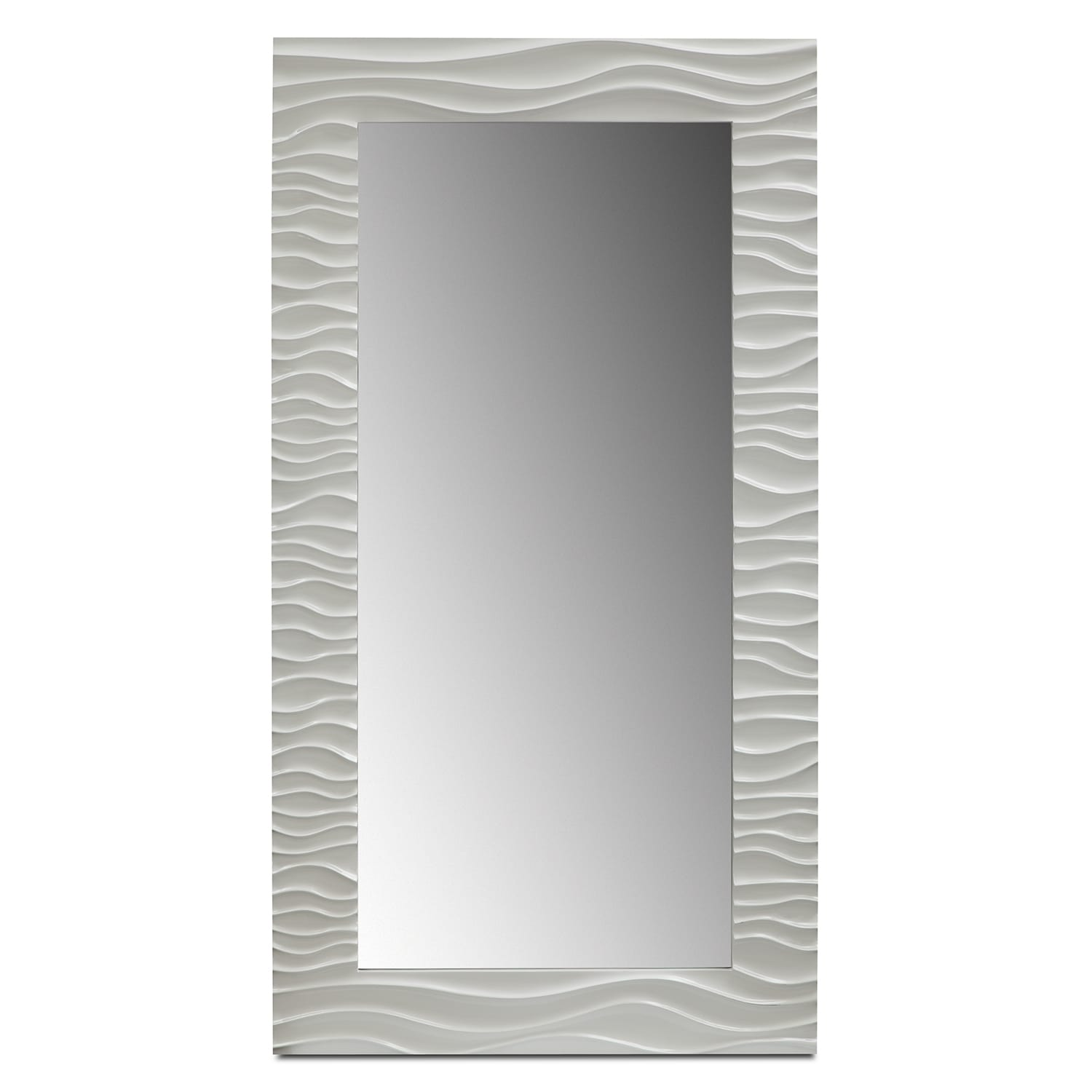 White Floor Mirror Ella Floor Mirror White