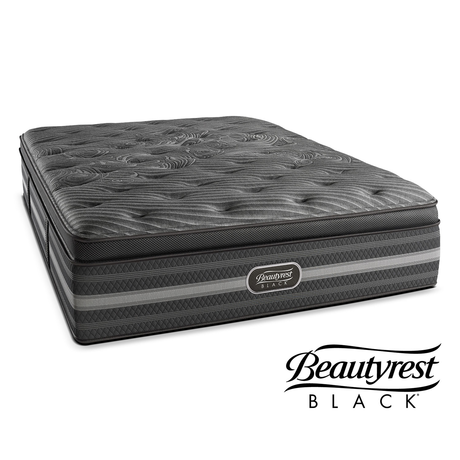 Beautyrest Black King Size Natasha Plush Mattress