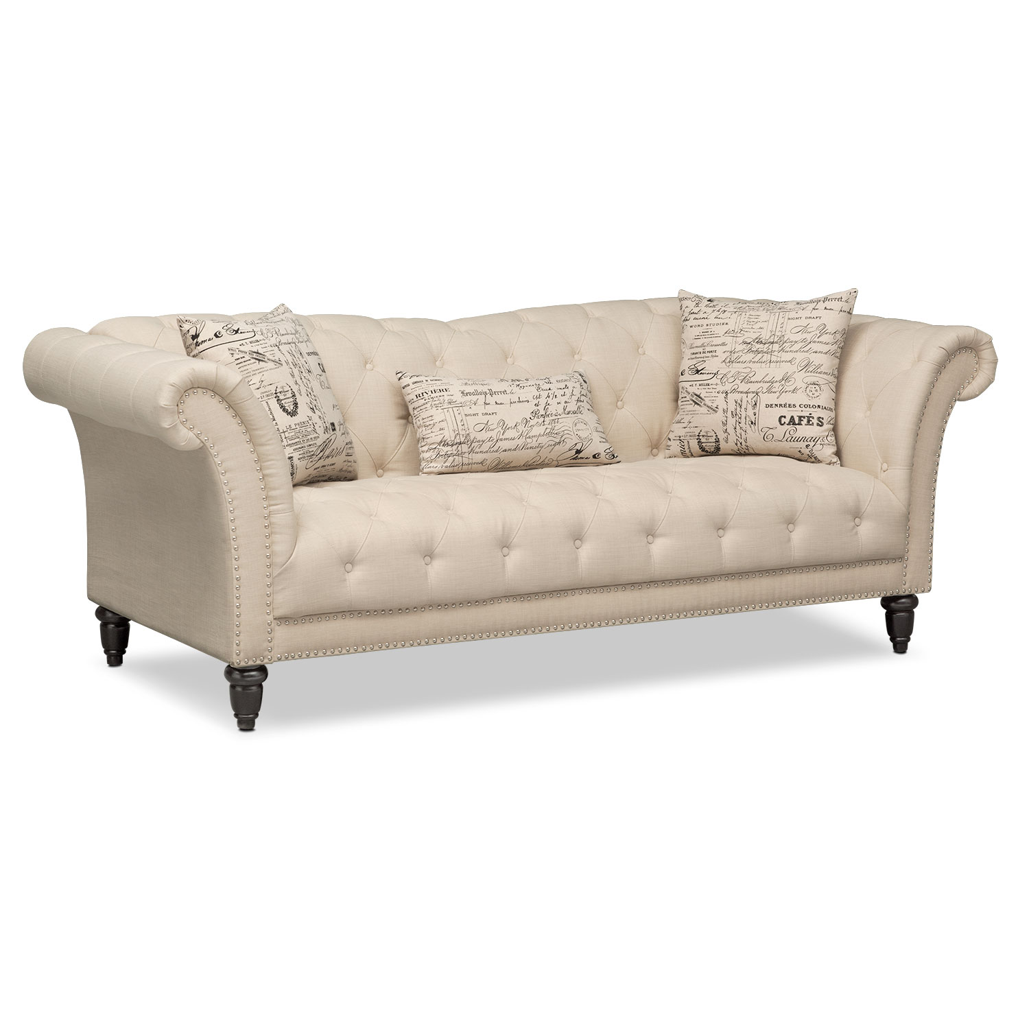 Couches And Sofas Marisol Sofa Beige American Signature Furniture