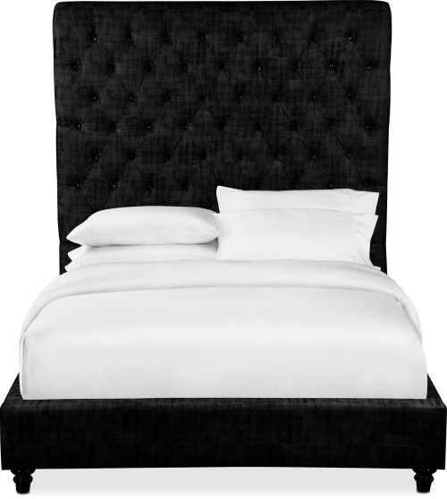 Medium Of Black Bed Frame