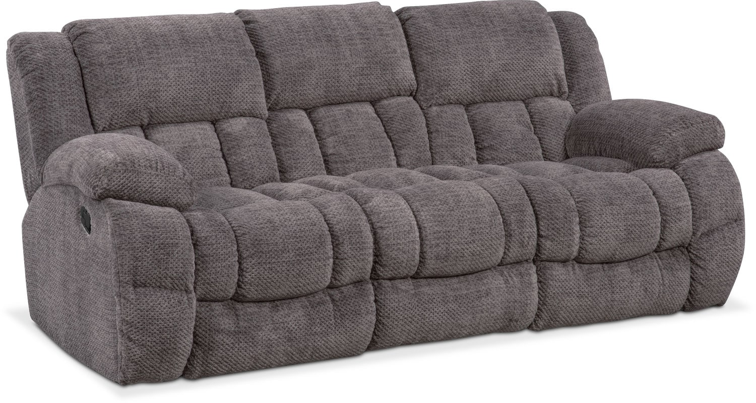 Sofa With Recliner Turbo Reclining Sofa Reclining Loveseat And Glider Recliner Set