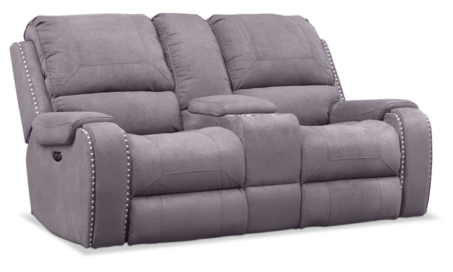 Sofa With Recliner Austin Dual Power Reclining Loveseat
