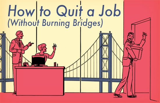 How to Quit a Job How to Give Two Weeks\u0027 Notice The Art of Manliness