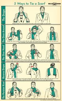 How to Tie a Men's Scarf: 5 Masculine Styles