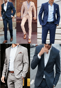 If/How to Wear a Suit Without a Tie | The Art of Manliness