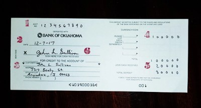 How to Cash/Deposit a Check | The Art of Manliness