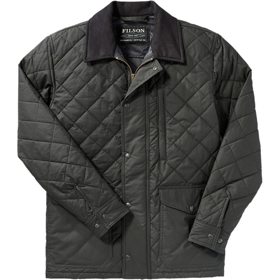 Jacket Ski Pants Filson Quilted Mile Marker Jacket - Men's | Backcountry.com