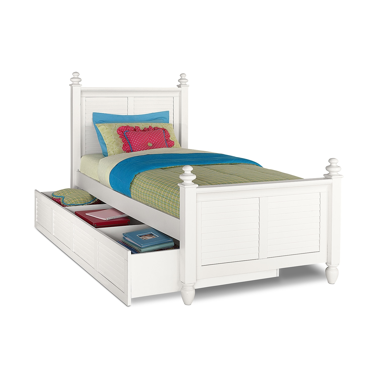 White Trundle Bed Value City Furniture