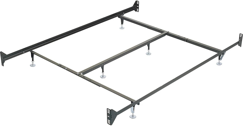 bed frames queen metal metal bed frames sleep train queen metal glide bedframe w headboardfootboard attachment