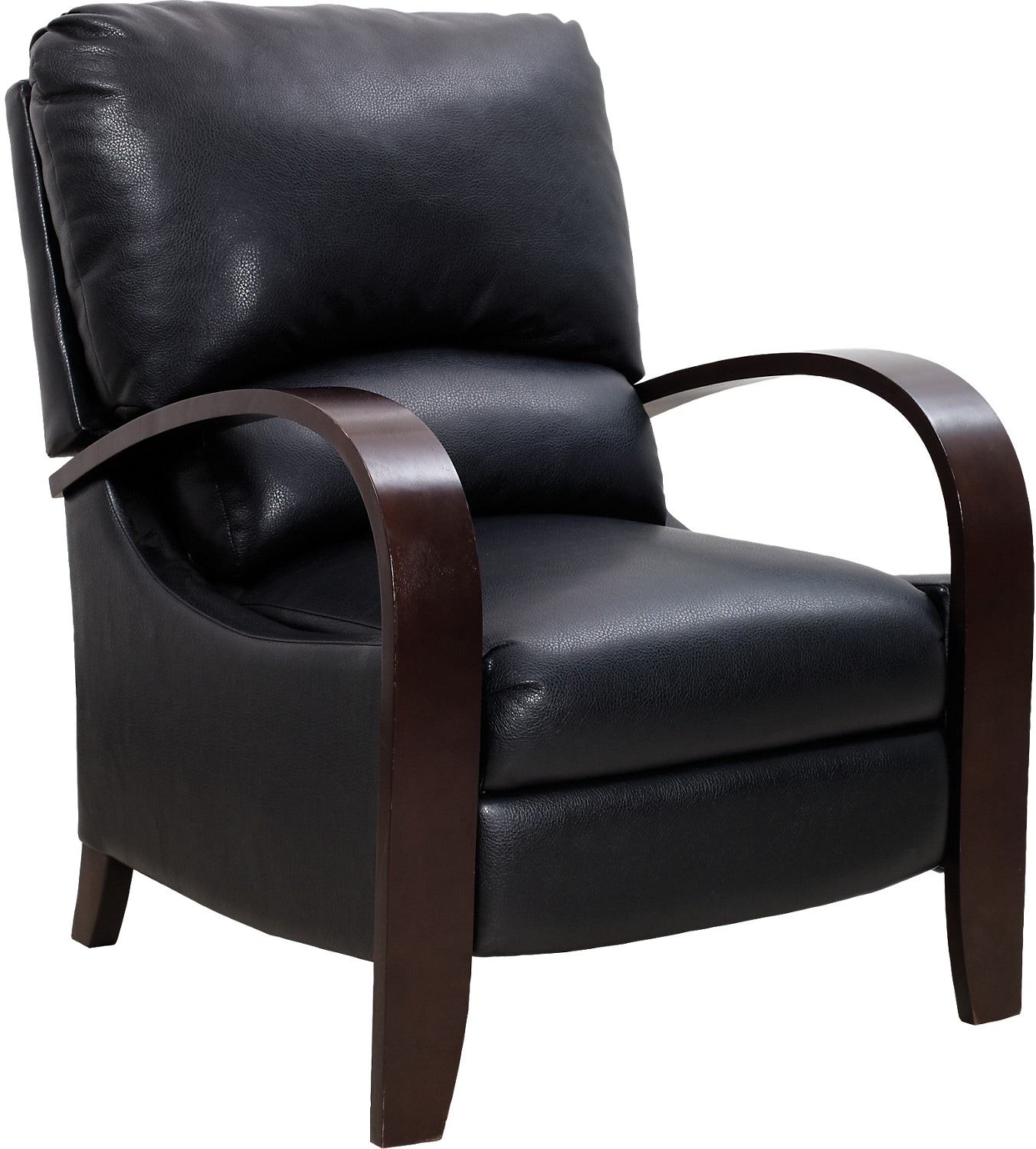 Accent Chairs Prices Aaron Black Reclining Accent Chair The Brick