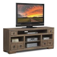 """Mesa 74"""" TV Stand - Distressed Pine 