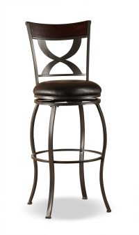 Stockport Counter-Height Swivel Stool | United Furniture ...