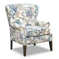 Caroline Blue Accent Chair | Furniture.com