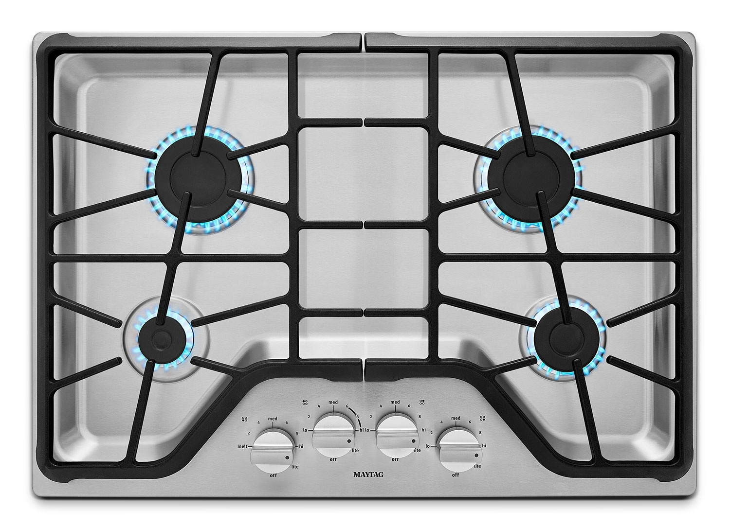 Gas Cooktop Installation Cost Maytag 30 Quot 4 Burner Gas Cooktop Stainless Steel The Brick