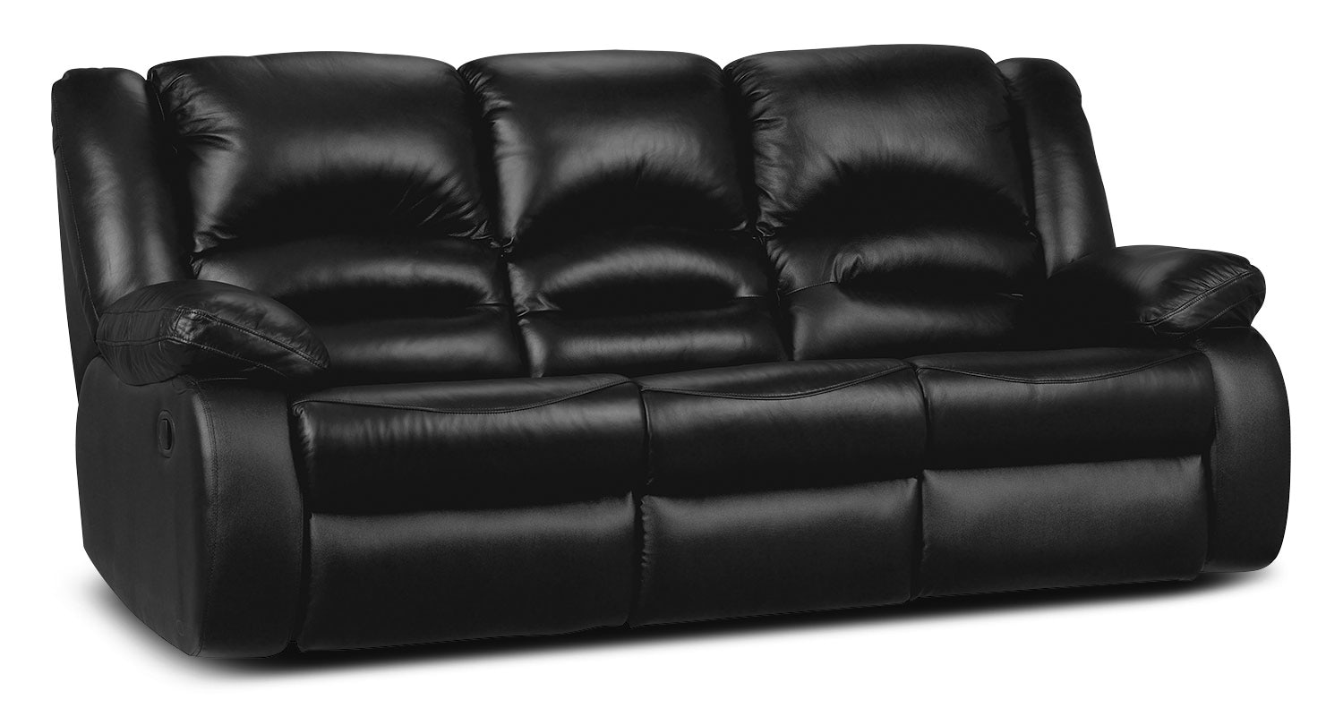 Black Leather Reclining Sofa Inspirational Interior Style Concepts