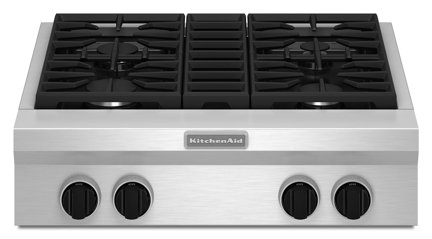 Gas Cooktop Installation Cost Kitchenaid 30 Quot Commercial Style Gas Cooktop Kgcu407vss