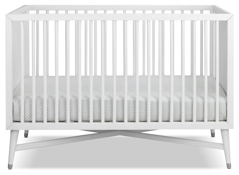 Finley Convertible Crib White Leon39s