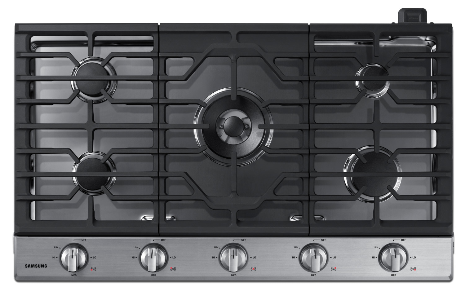 Gas Cooktop Installation Cost Samsung 36 Quot Gas Cooktop With Dual Burner Na36k6550ts
