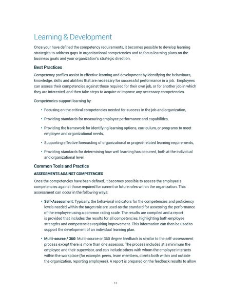 ebooks - HRSG Best Practice Guide - Implementing Competencies - job self assessment