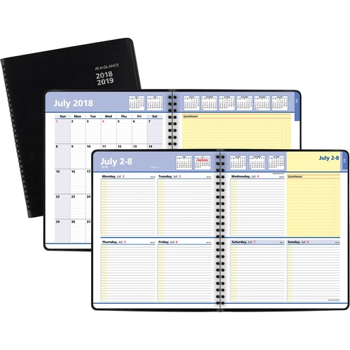 At-A-Glance QuickNotes Academic Weekly/Monthly Planner - Julian