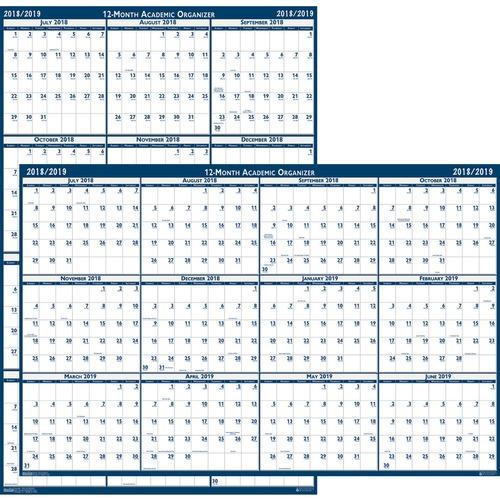 House of Doolittle Academic July-June Wall Calendar - Julian