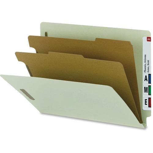 Nature Saver 2-divider End Tab Classification Folder --NATSP17252