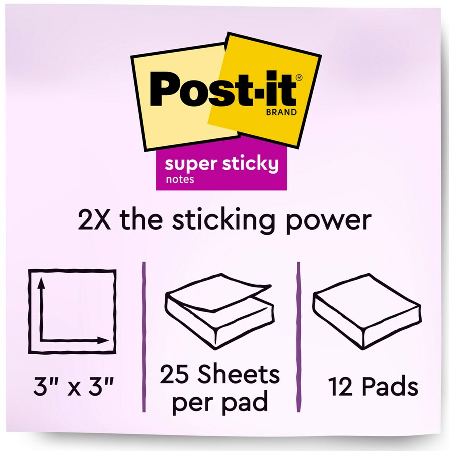Review 4x6 Sofa Post It Super Sticky Full Adhesive Notes 3
