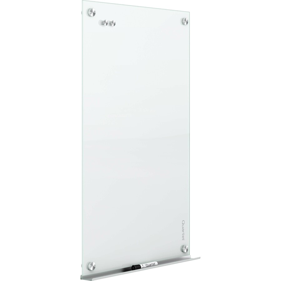 Whiteboard Glas Quartet Infinity Glass Magnetic Dry Erase Board 6 X 4 White