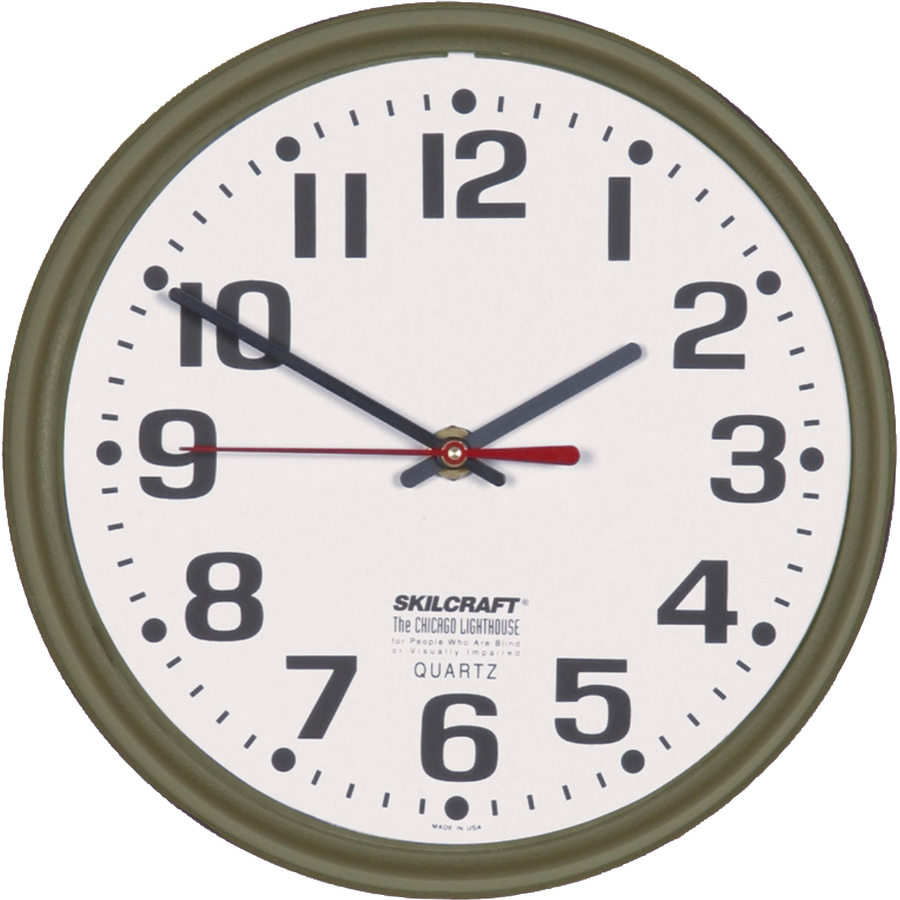 Inexpensive Wall Clock Discount Nsn0468849 Skilcraft 6645 01 046 8849 Skilcraft