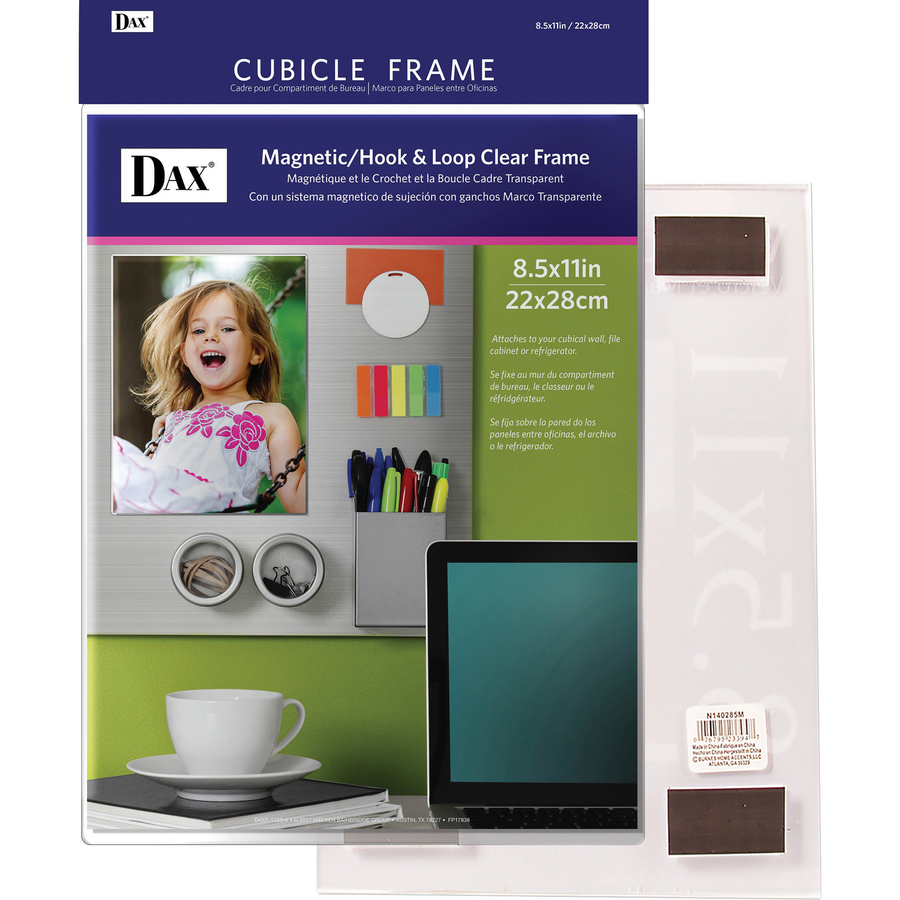 Cadre Photo Magnet Dax Magnetic Hook Loop Cubicle Frame