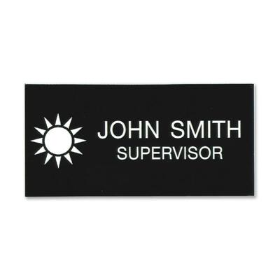 Xstamper Standard Logo Name Badges - Lighthouse Office Supply