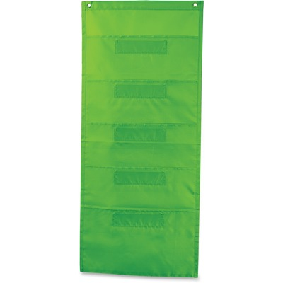 Carson-Dellosa File Folder Storage Lime Pocket Chart - Yuletide