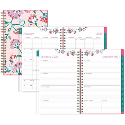 Blue Sky BCA Alexandra Small Weekly/Monthly Planner - Lighthouse - multi year planner
