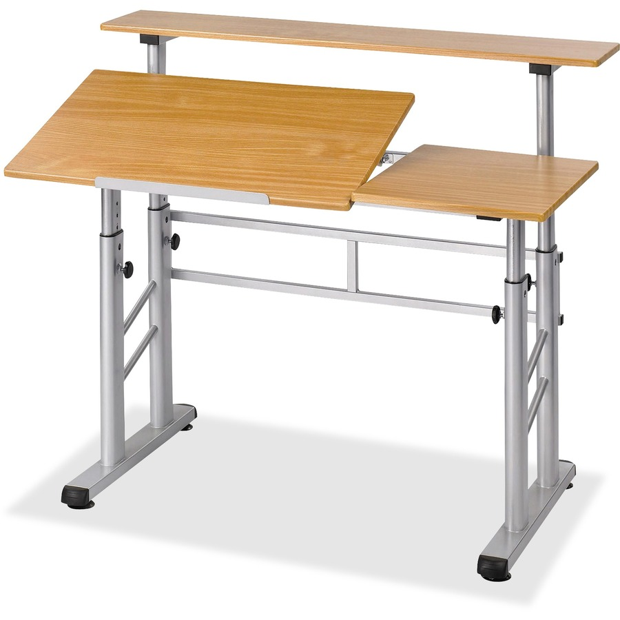 Adjustable Height Drafting Table Safco Height Adjustable Split Level Drafting Table Mac Papers Inc