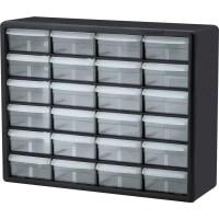 Akro-Mils 24-Drawer Plastic Storage Cabinet - AKM10124 ...