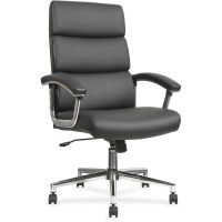 LLR20018 - Lorell Leather High-back Chair - Office Supply Hut