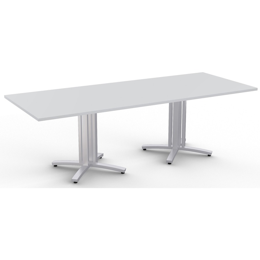 Structure Table Special T Structure 4x Structure Table Rectangle Top 3 Column Base 2 Legs 10 Ft Table Top Length X 48