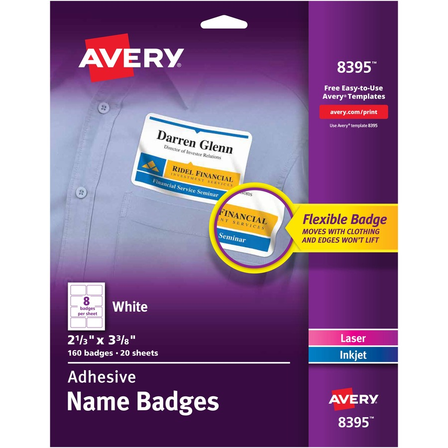avery 8395 label