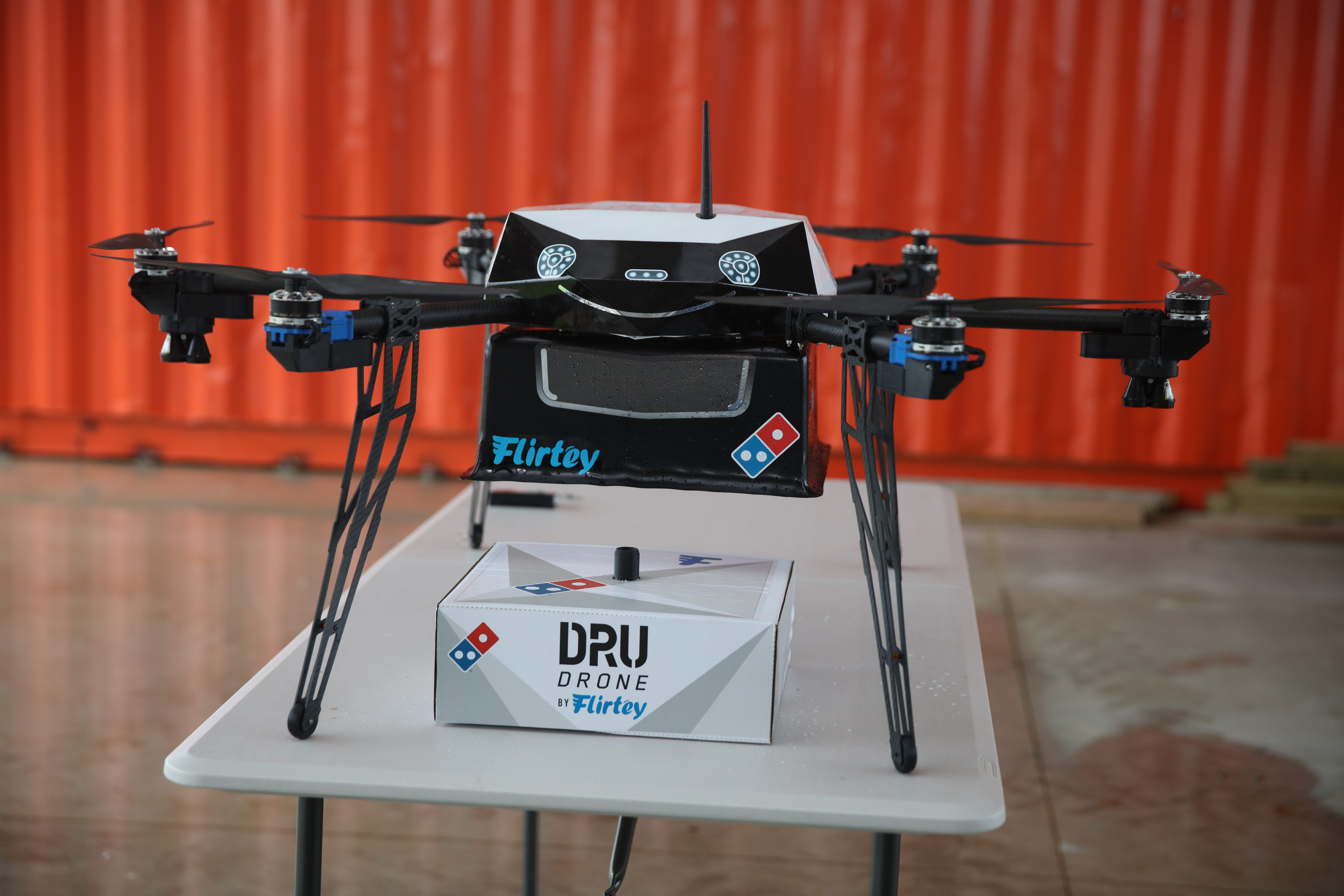 Dominos Domino S Pizza Is One Step Closer To Drone Delivery Fortune