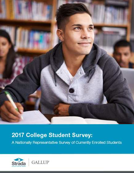 Strada-Gallup 2017 College Student Survey - student