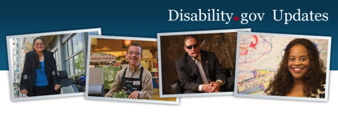 Disability.gov updates