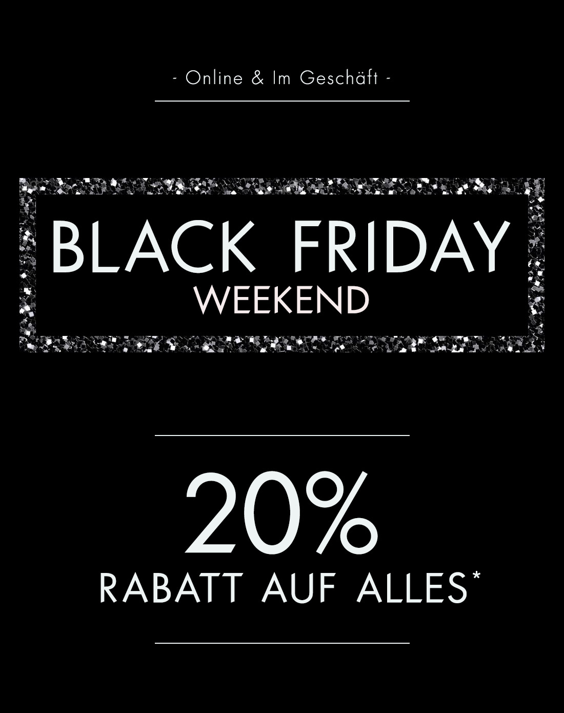 Black Friday Rabatt Black Friday Wochenende 20 Rabatt Guess Gutscheine Deals