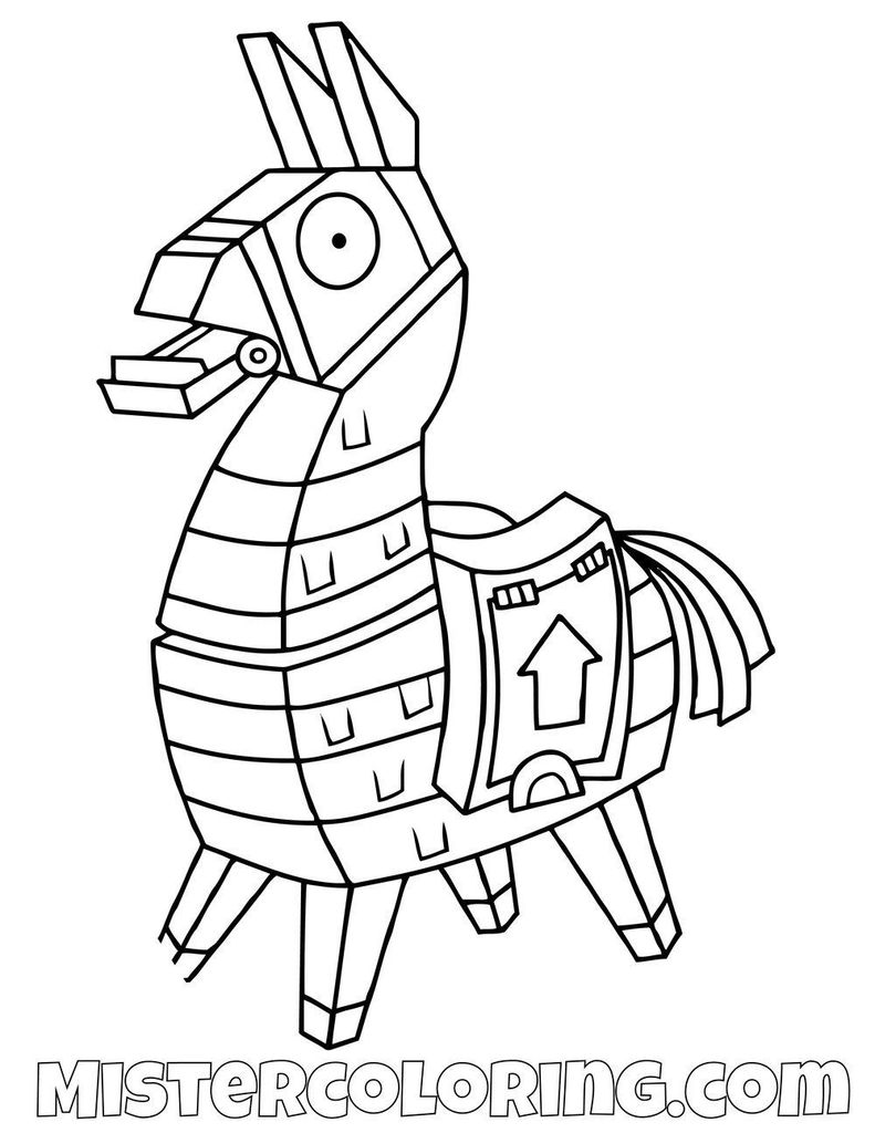 Fortnite Llama Easy Fortnite Drawings Novocom Top