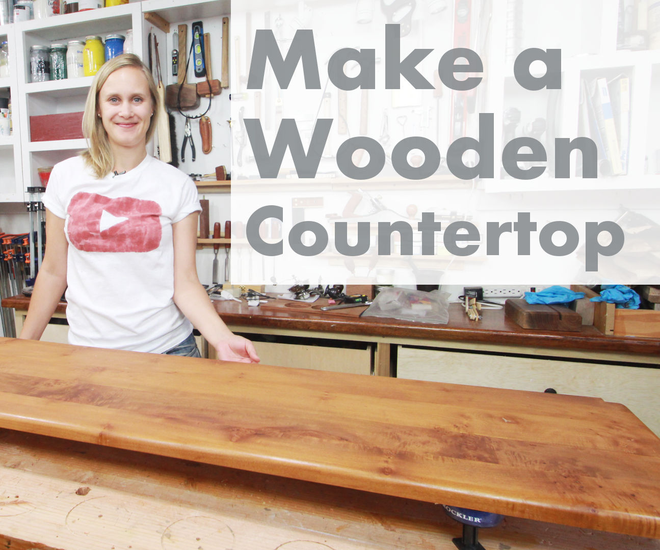 How To Make A Wooden Countertop 8 Steps With Pictures Instructables