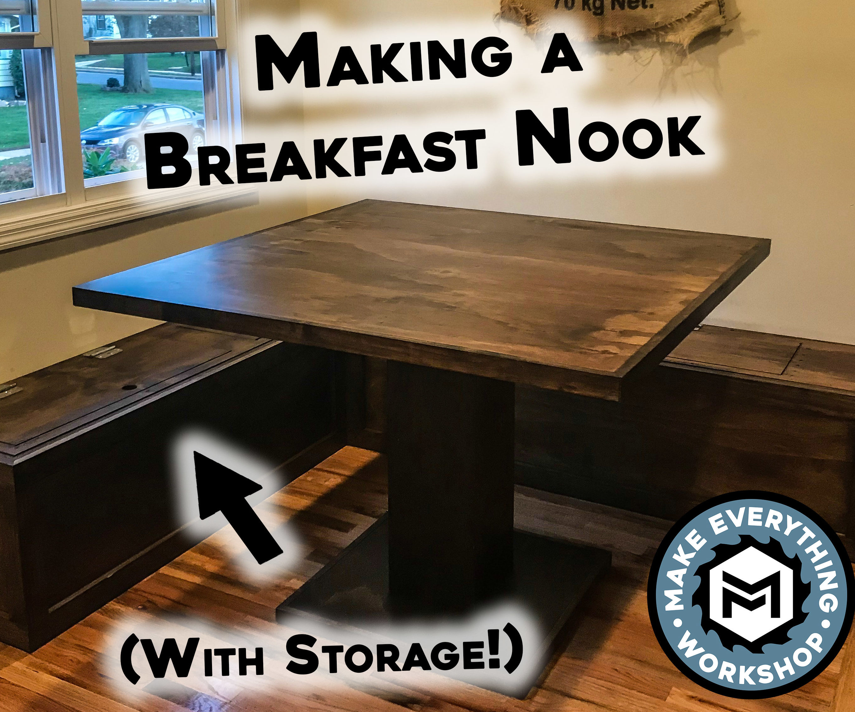 Making A Breakfast Nook W Storage Kitchen Table 18 Steps With Pictures Instructables