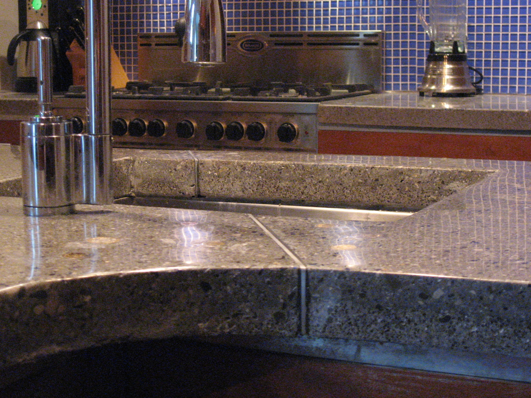 Concrete Countertops For The Kitchen A Solid Surface On The Cheap 7 Steps With Pictures Instructables